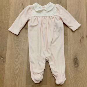 Ralph Lauren Baby Girls Footed One Piece Pink 3 Mt